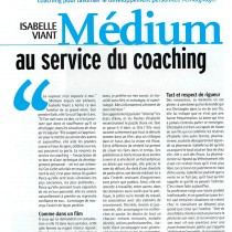 Vivre féminin – « Médium au service du coaching » – Juillet 2005