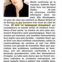 Femme – « Visions 2000? – Septembre 1999