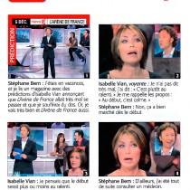 Télé 7 jours – « Emission L'Arène de France » – Décembre 2006