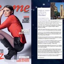Femme Magazine – Janvier 2012