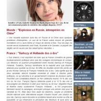 France Soir Numérique – Décembre 2011