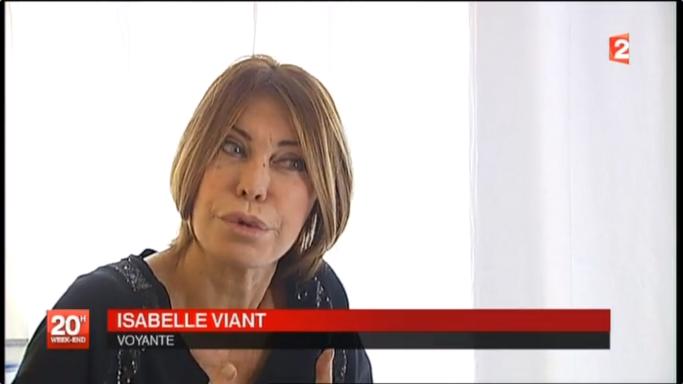 Isabelle Viant au 20H de France 2