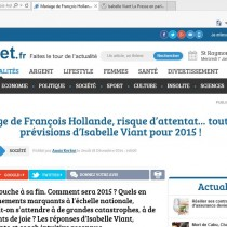 Planet.fr - Interview du 18-12-2014