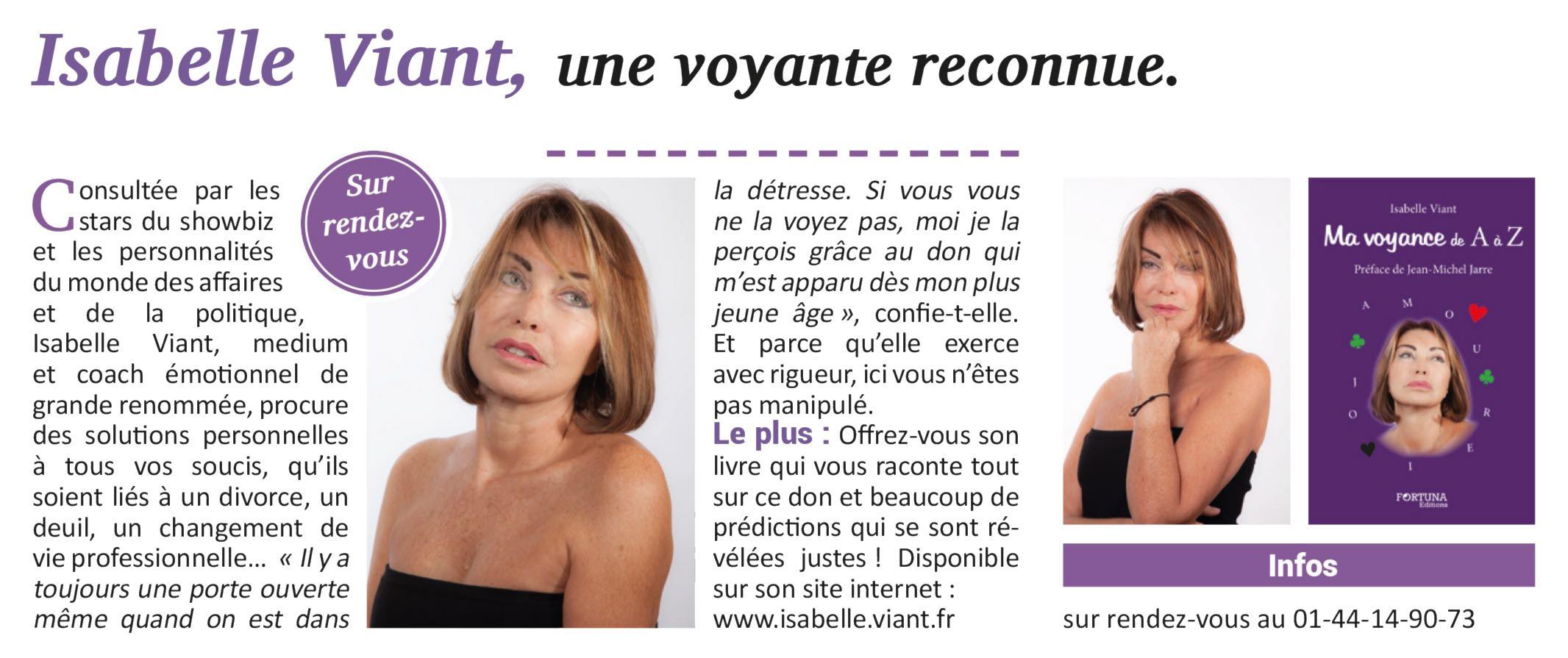 Isabelle Viant Medium Voyante sur Paris. « 58a6032f6c45